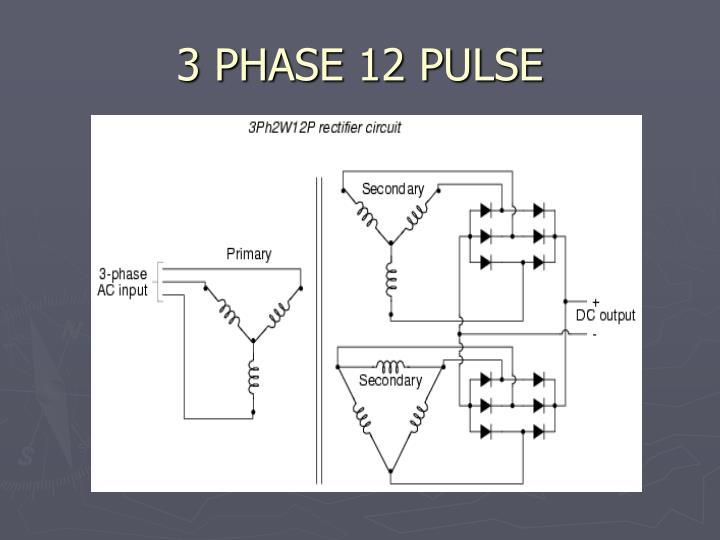 3 PHASE 12 PULSE
