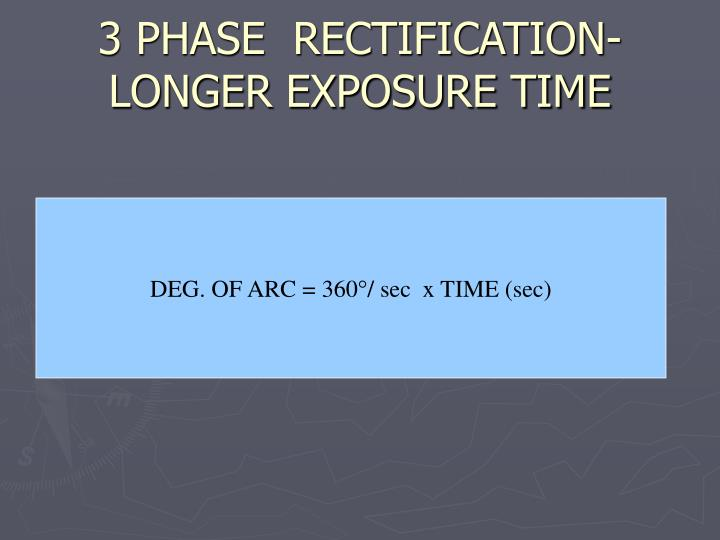 3 PHASE  RECTIFICATION-