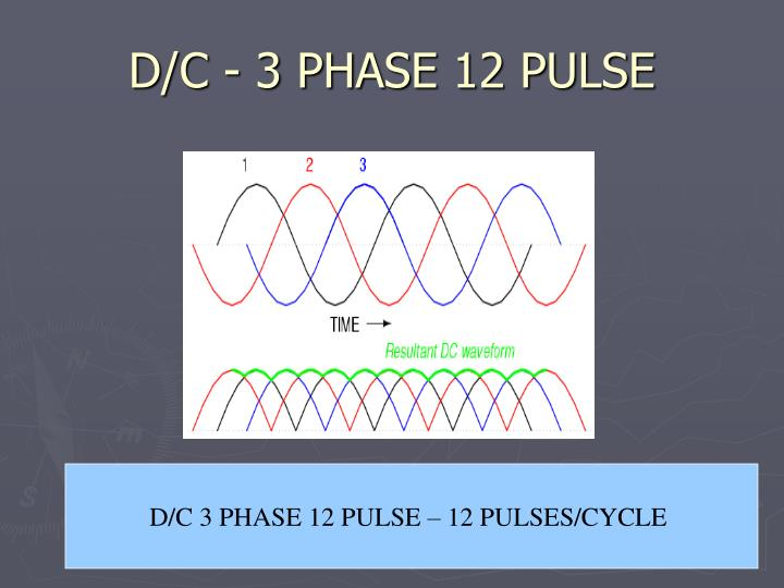 D/C - 3 PHASE 12 PULSE