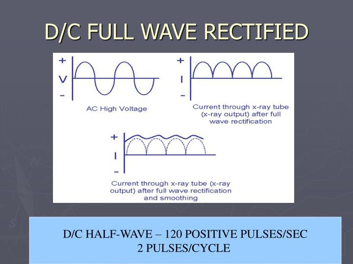 D/C FULL WAVE RECTIFIED