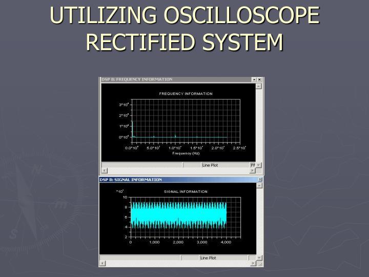 UTILIZING OSCILLOSCOPE