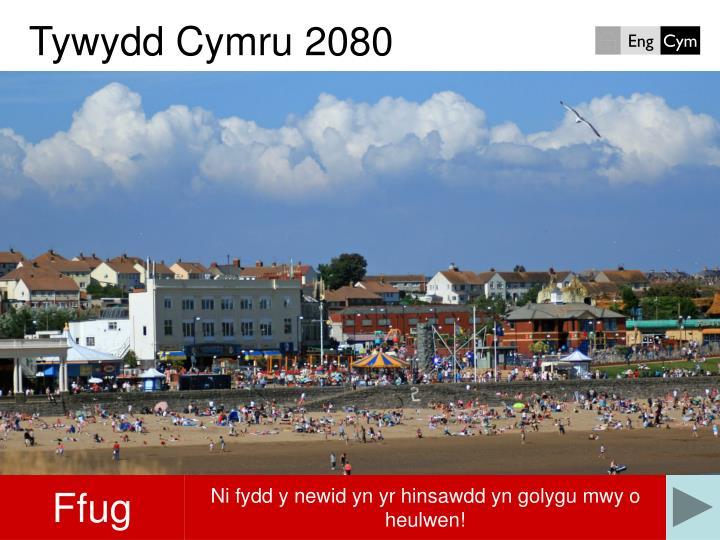 Tywydd Cymru 2080