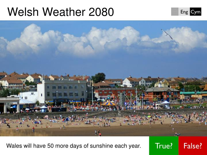 Welsh weather 2080