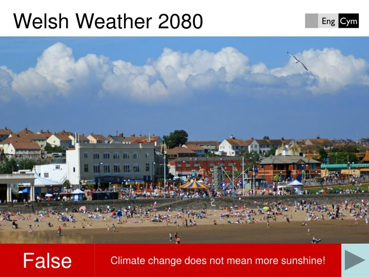 Welsh weather 20801