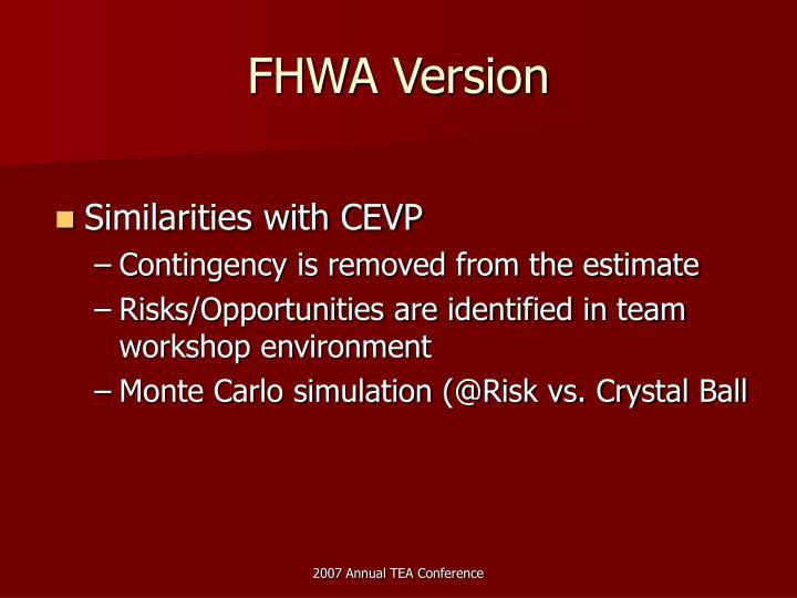 FHWA Version