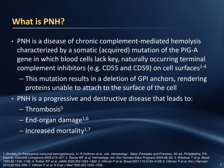 What is PNH?
