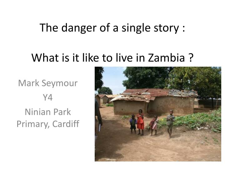 The danger of a single story what is it like to live in zambia