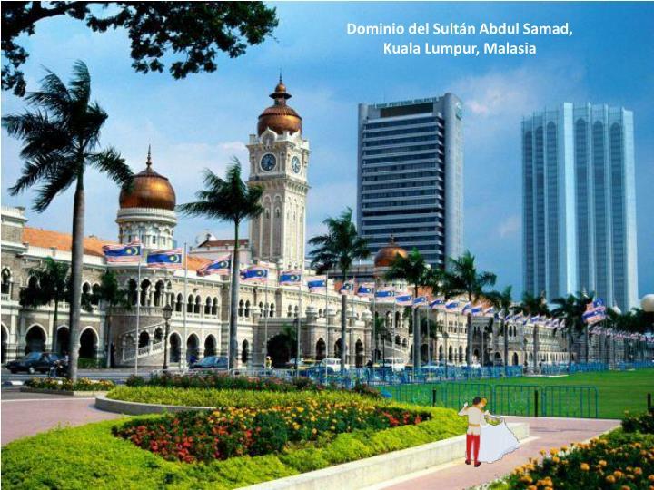 Dominio del Sultán Abdul Samad,