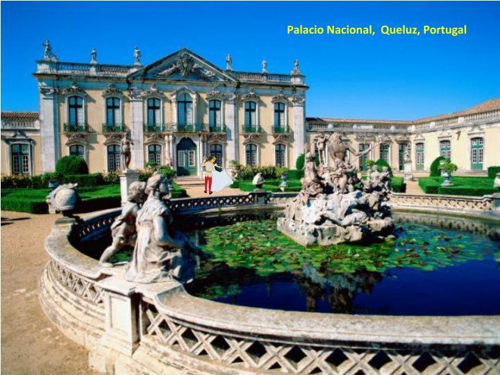 Palacio Nacional,  Queluz, Portugal