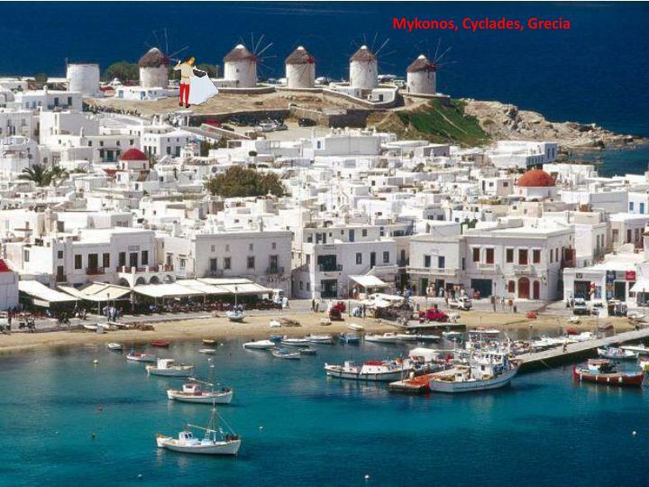 Mykonos, Cyclades, Grecia