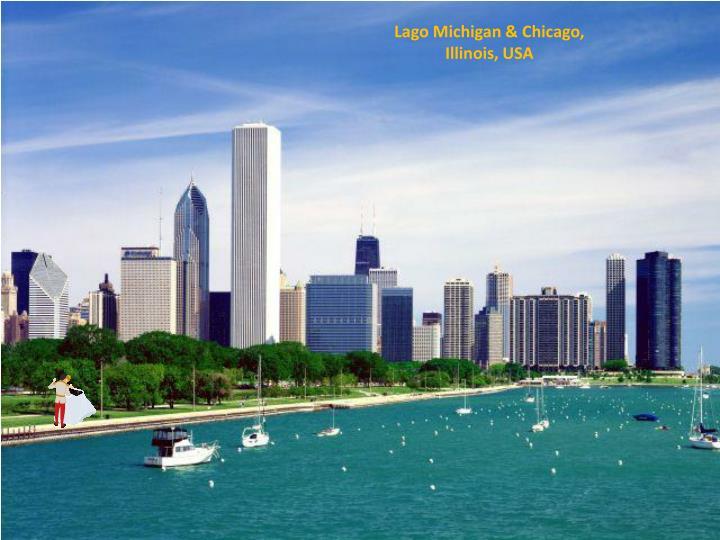 Lago Michigan & Chicago,