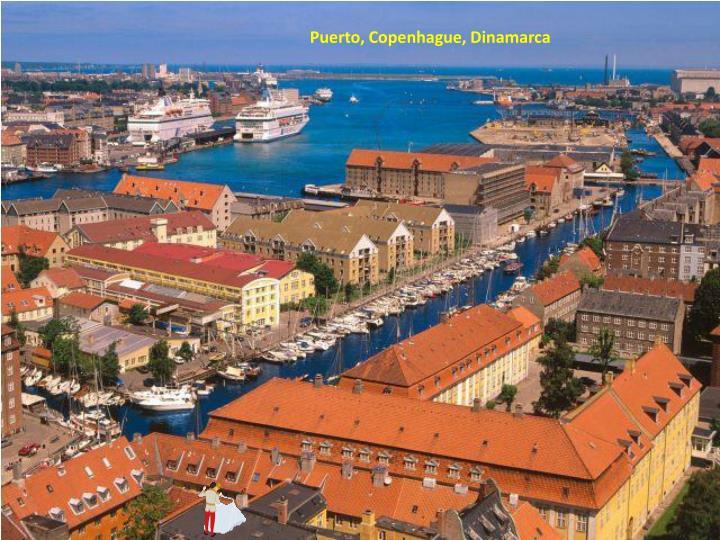 Puerto, Copenhague, Dinamarca