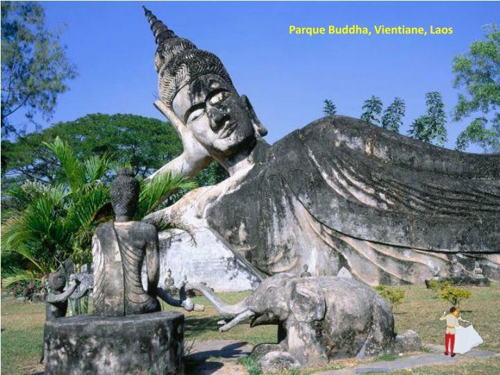 Parque Buddha, Vientiane, Laos