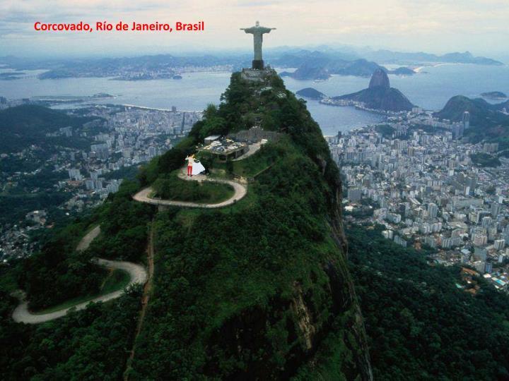 Corcovado, Río de Janeiro, Brasil