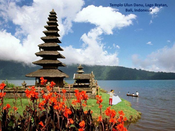 Templo Ulun Danu, Lago Bratan,