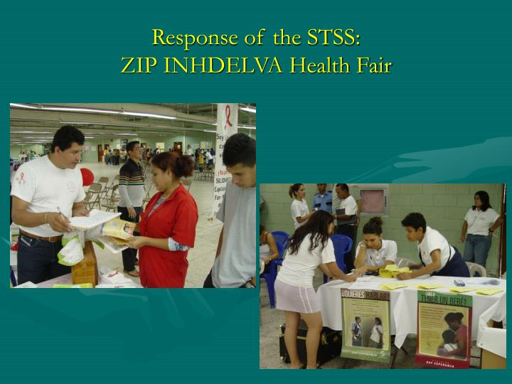 Response of the STSS: