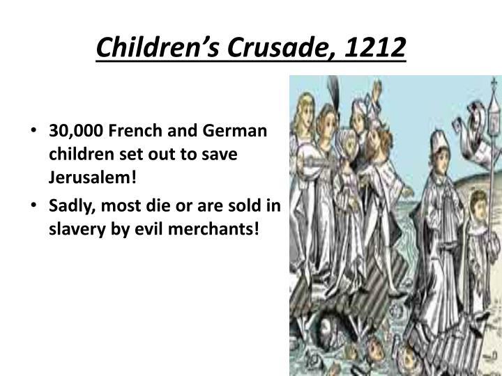 Children's Crusade, 1212