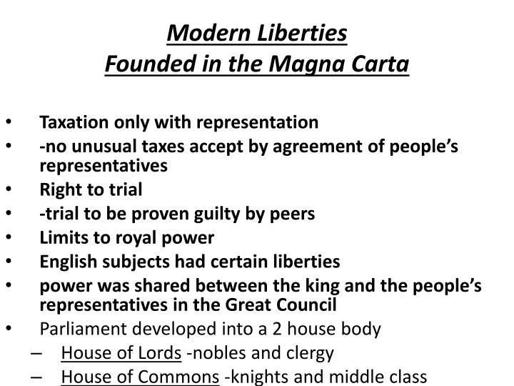 Modern Liberties