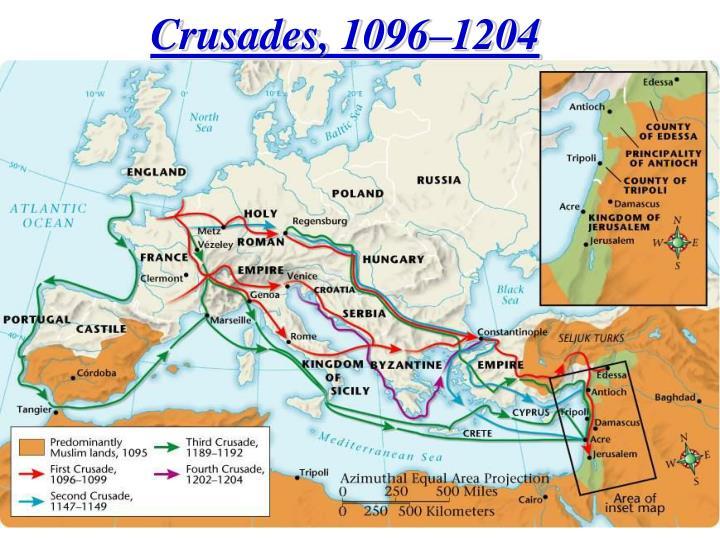 Crusades, 1096–1204