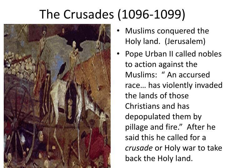 The Crusades (1096-1099)