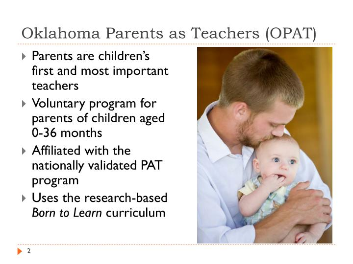 Oklahoma Parents as Teachers (OPAT)