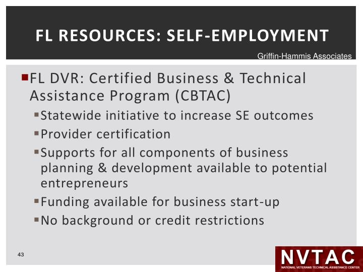 FL RESOURCES: SELF-EMPLOYMENT