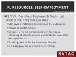 fl resources self employment