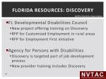 florida resources discovery