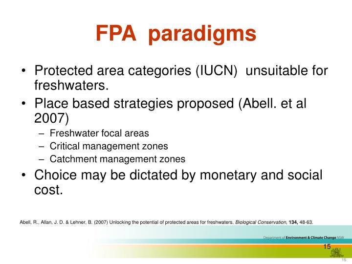 FPA  paradigms