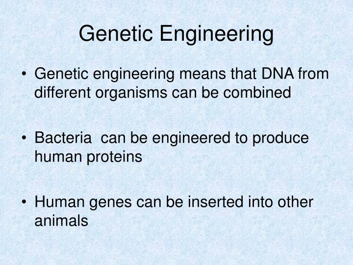 Genetic engineering2
