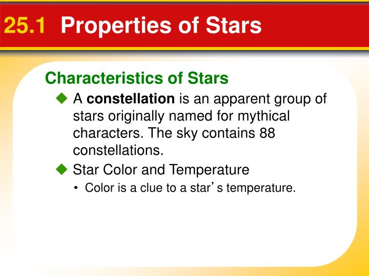 25 1 properties of stars