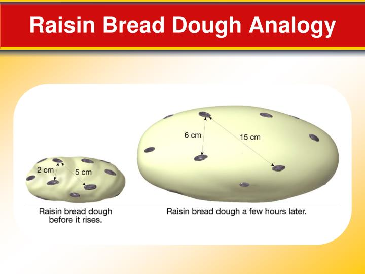 Raisin Bread Dough Analogy