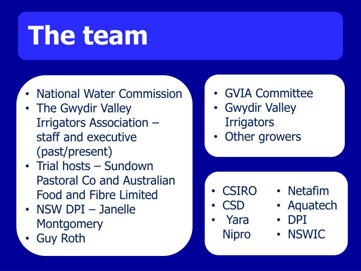 GVIA Committee