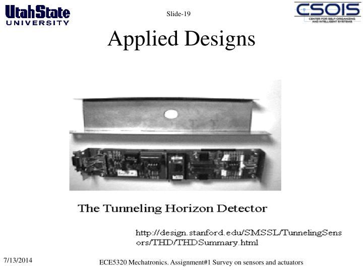 Applied Designs