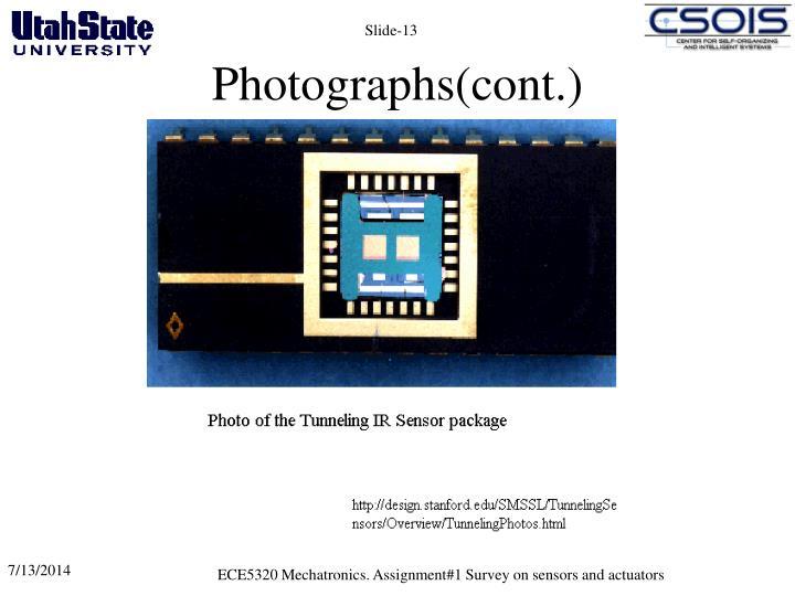 Photographs(cont.)