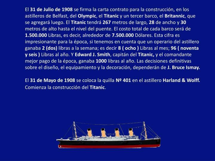 Ppt titanic powerpoint presentation id 1725710 - Construccion del titanic ...