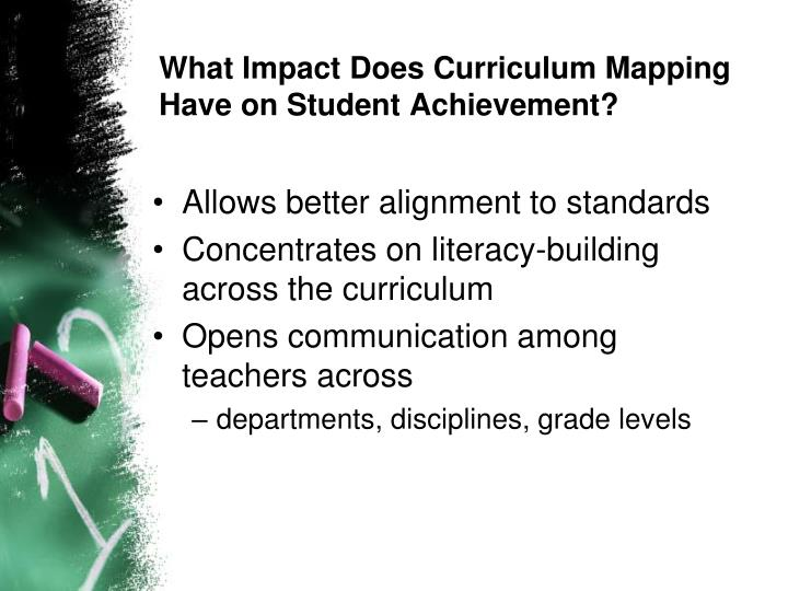 What Impact Does Curriculum Mapping Have on Student Achievement?