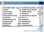 l p string tt methods