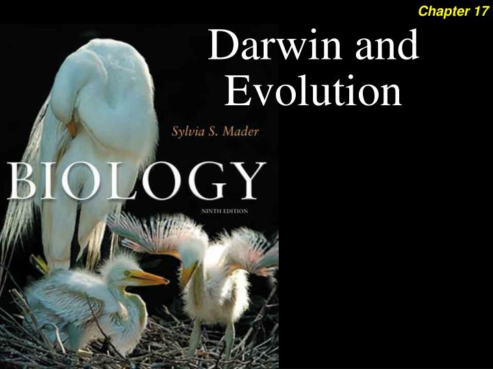 Darwin and Evolution