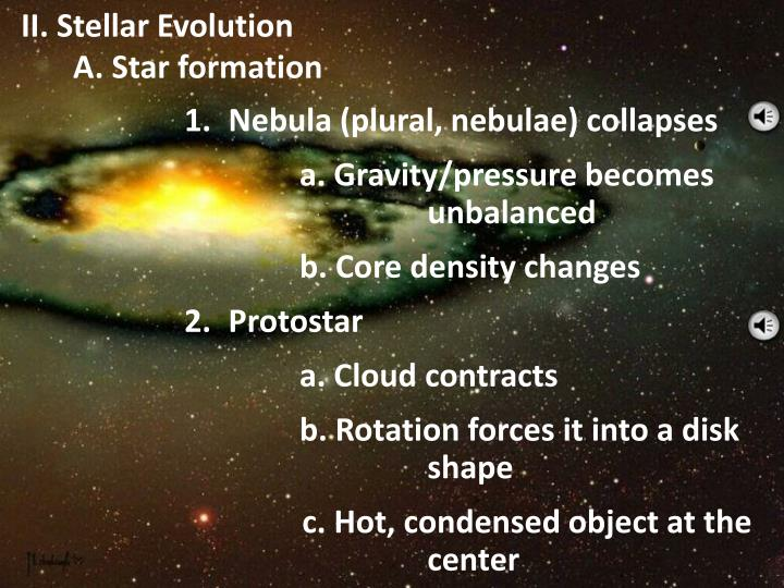 II. Stellar Evolution