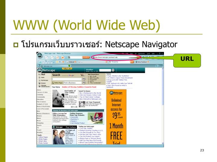 WWW (World Wide Web)