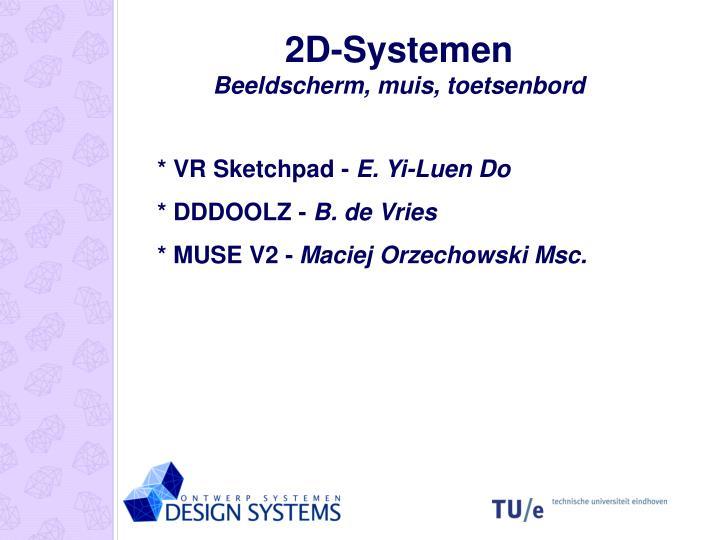 2D-Systemen