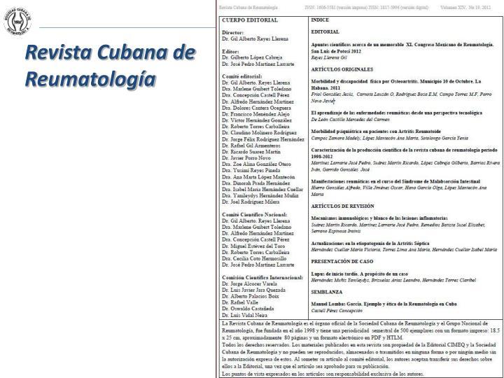 Revista Cubana de