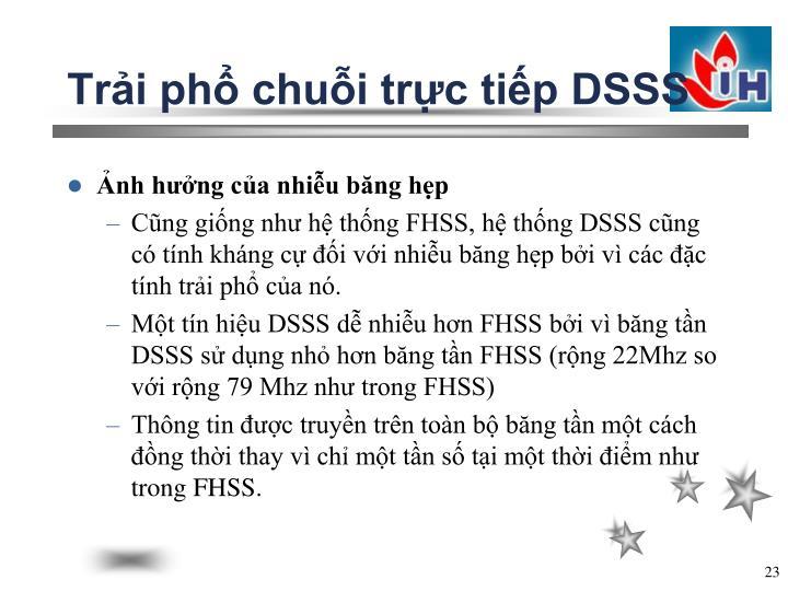Trải phổ chuỗi trực tiếp DSSS