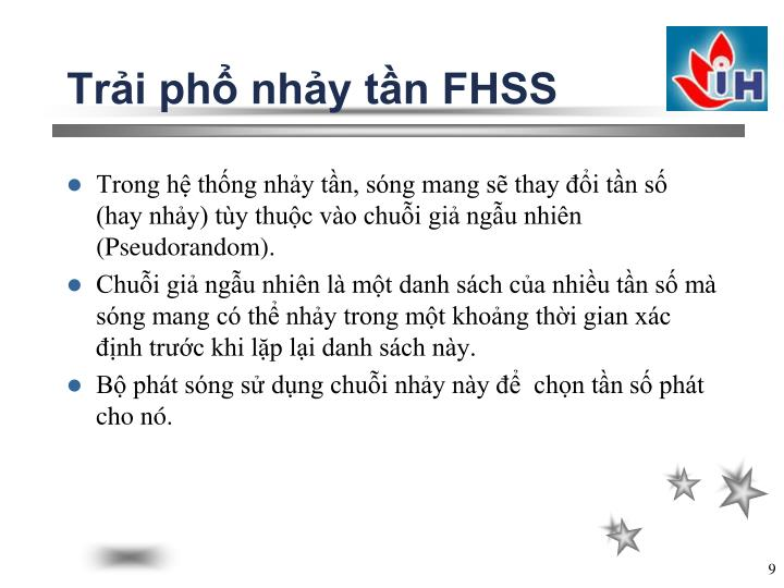 Trải phổ nhảy tần FHSS