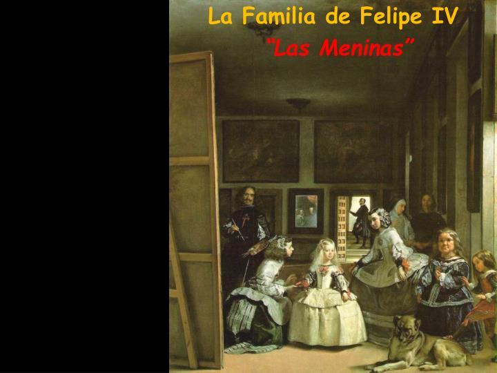 La Familia de Felipe IV