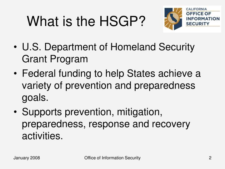 What is the hsgp