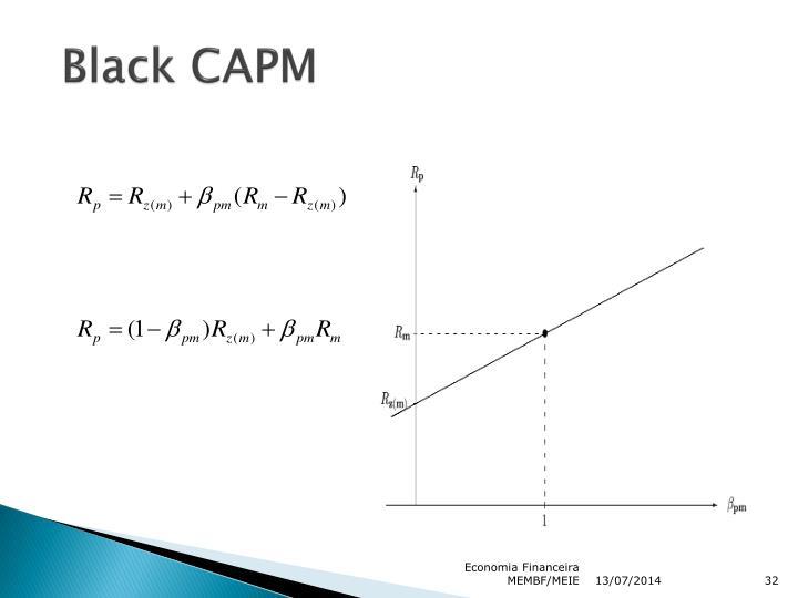 Black CAPM