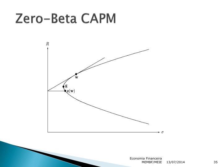 Zero-Beta CAPM
