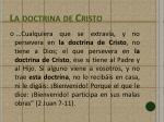 la doctrina de cristo2